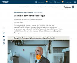 Das ist Thüringen: Prof. Dr. Schubert | Philipp Nagels