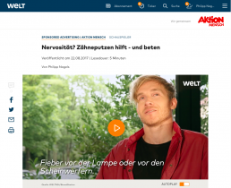 Aktion Mensch Philipp Nagels